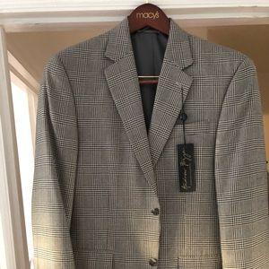 Men's suit jacket size 38 regular